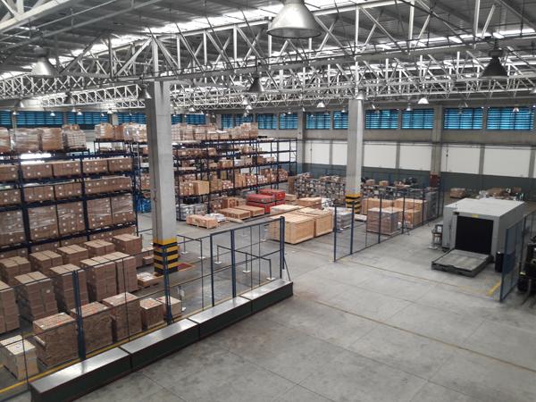 O setor de Importação do terminal de cargas de Salvador teve sua infraestrutura otimizada.
