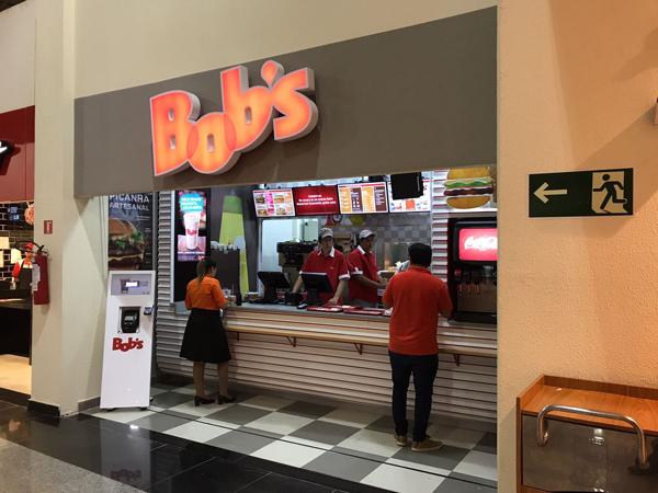 O Bob's passa a funcionar na praça de alimentação do aeroporto.